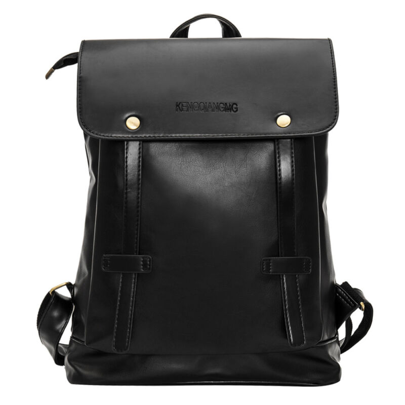 unisex vintage leder rucksack schultasche laptop reisetasche herren damen tasche eur 13 99. Black Bedroom Furniture Sets. Home Design Ideas