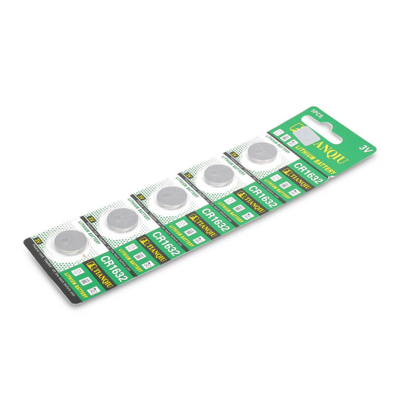 Consumer Electronics CR1632 3 Volt Coin Cell Battery (5 Batteries) 6