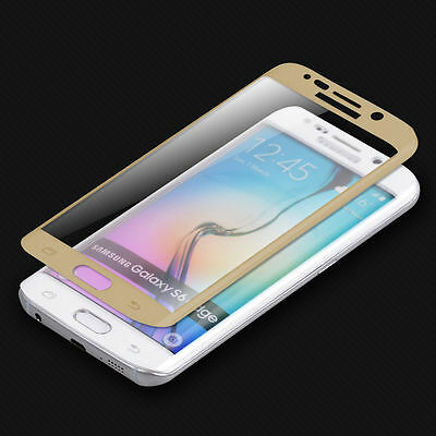 Full Cover Tempered Glass Screen Protector For Samsung Galaxy S7 Edge S8 S9 Plus 6