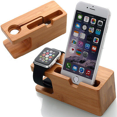 Charging Dock Stand Bracket Accessories iPhone Holder For Apple Watch iWatch