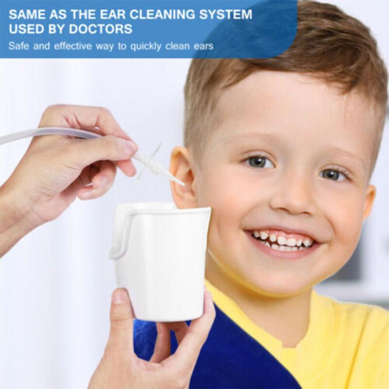 Q Grips Ohrenreiniger mit 16 Ersatzk/öpfen Ohrenreiniger Ohrenschmalz Entferner 360 Grad Spirale Silikon Sicher und Weich Geeignet f/ür Kinder und Familie Orange