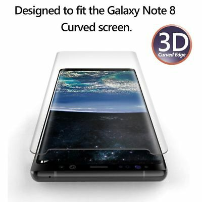 Case Friendly Tempered Glass Screen Protector For Samsung Galaxy NOTE 8 9 3