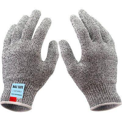 Cut Proof Resistant Stainless Steel Metal Mesh Level 5 Food Grade Butcher Gloves