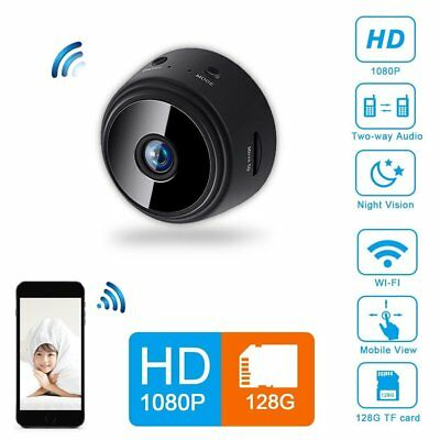 Mini Spy Camera Wireless Wifi IP Home Security HD 1080P DVR Night Vision Remote 3