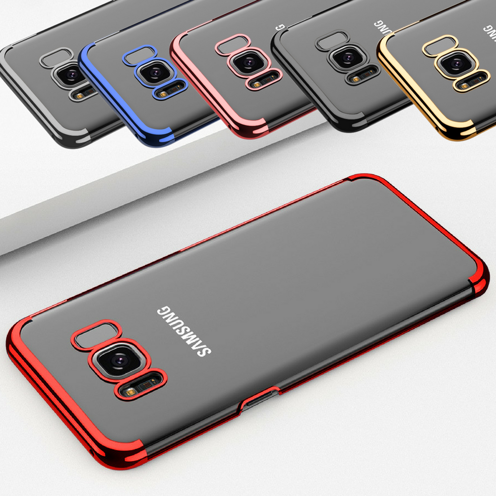 Luxury Ultra Slim Shockproof Bumper Case Cover for Samsung Galaxy S7 S8 S9 Plus 2