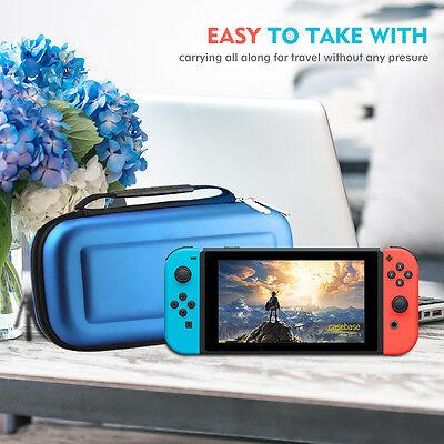 Funda Carcasa EVA Rígida para Nuevo Nintendo Switch Viaje Case Cover Bolsa Game 3