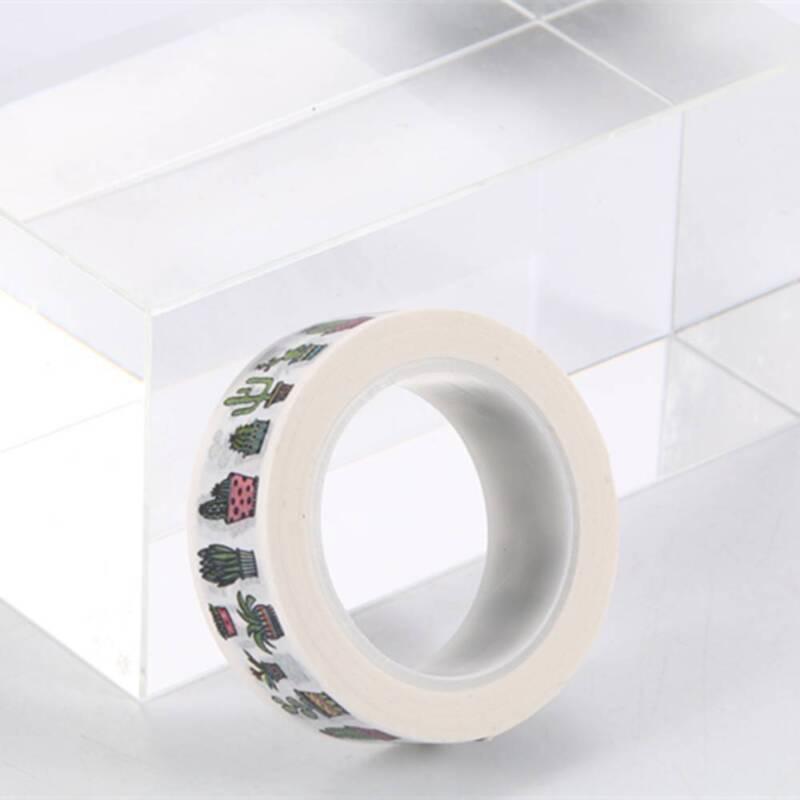 DIY Cute Cactus Washi Tape Decorative Adhesive Tape Masking Diary Decoration 6