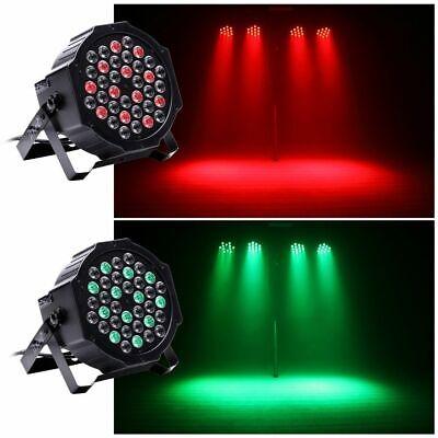 U`king 8PCS RGB 80W Stage Lighting DMX512 Par Can Color Mixing Party Wedding KTV 2