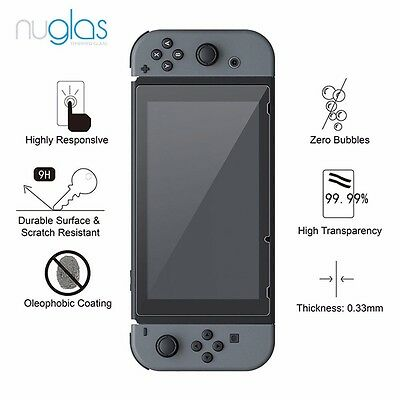 2 X Nuglas Nintendo Switch Tempered Glass Screen Protector for Nintendo Switch 6