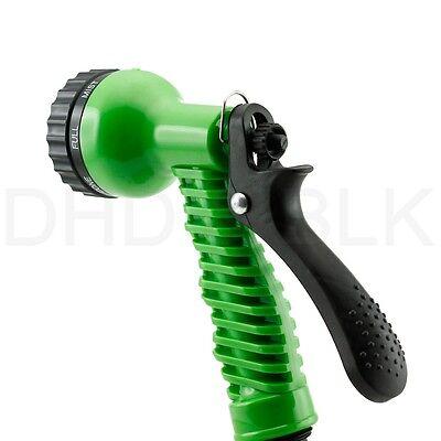 Deluxe 25 50 75 100 Feet Expandable Flexible Garden Water Hose w/ Spray Nozzle 7