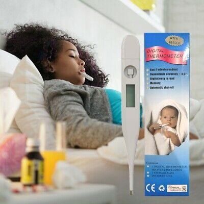 Thermometer for Adults and Kids Digital LCD Baby Body Thermometers for Mouth 4