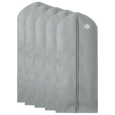 1/5/10Pc Garment Suit Bags Dress Clothes Coat Cover Breathable Protector Storage 10