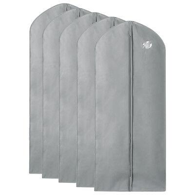 1/5/10Pcs Garment Suit Bag Dress Clothes Coat Cover Breathable Protector Storage 10