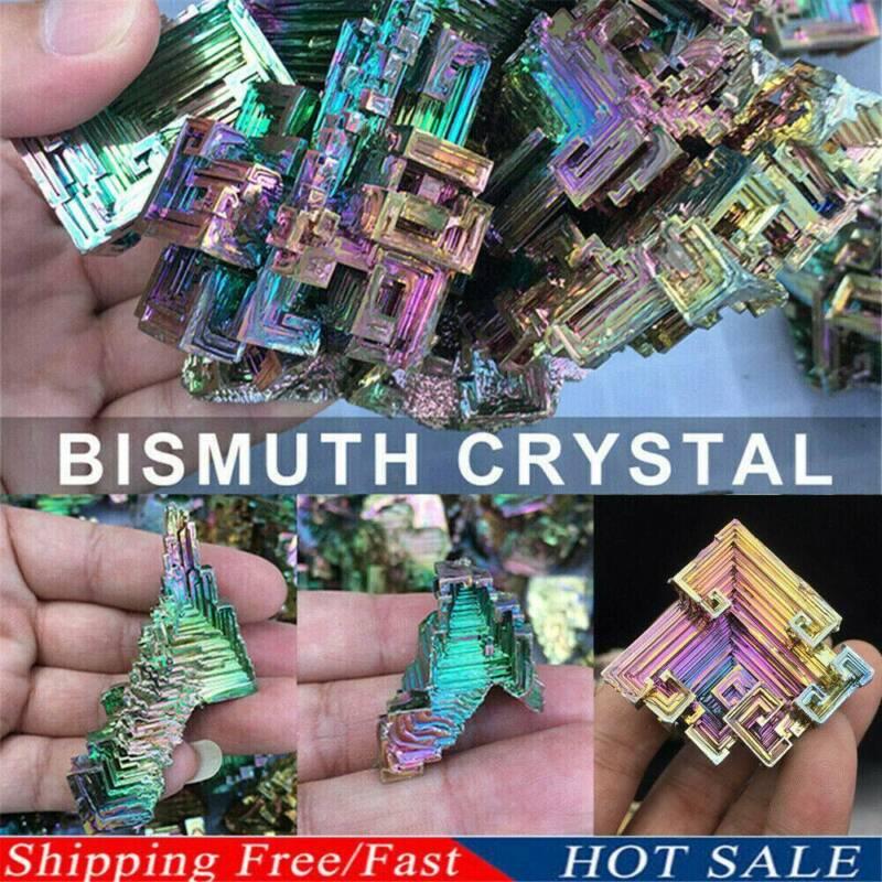 Top Natural Quartz Crystal Rainbow Titanium Cluster VUG Mineral Specimen Healing 4