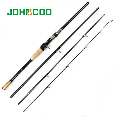 ... Travel Rod Baitcasting Fishing Rod Spinning Carbon Rod 4 Sections 10-25g 2