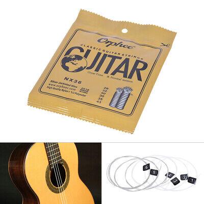 Orphee NX36 classiche di nylon corde della chitarra 6pcs Set completa C4R0 9