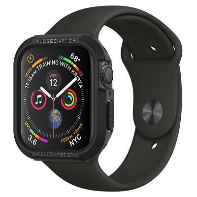 Apple Watch Series 5/4 Case (40mm,44mm) Spigen® [Rugged Armor] Protective Cover 2
