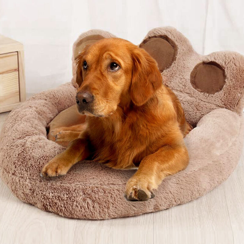 Large Fleece Pet Dog Cat Bed Puppy Cushion House Sleep Rest Kennel Paw Blanket 5