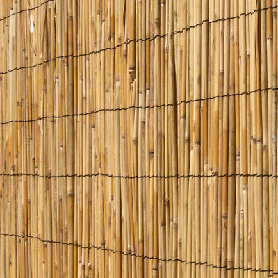 BAMBOO REED SCREENING Roll Screen Fencing Garden Fence Panel Wooden Outdoor