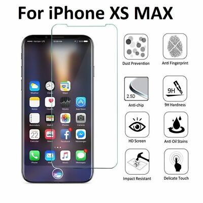 Premium Screen Protector Tempered Glass For iPhone SE 5 6 7 8 Plus X Xs Max XR 3