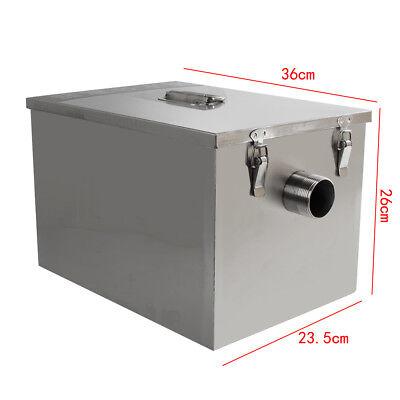 USA Stainless Steel Commercial Grease Trap Interceptor Filter Kit for Restaurant 3