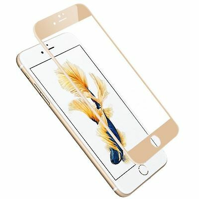 3D Full Coverage Tempered Glass Screen Protector Cover For iPhone 6 6S 7 + Plus 2
