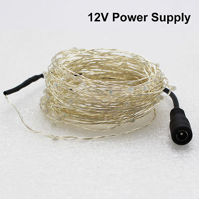 LED String Copper Wire Fairy Lights Battery USB 12V Xmas Party Fairy Decor Lamp 8