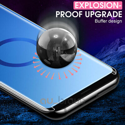 6D Samsung Galaxy S9 S8 Plus Note 9 8 Full Cover Tempered Glass Screen Protector 8