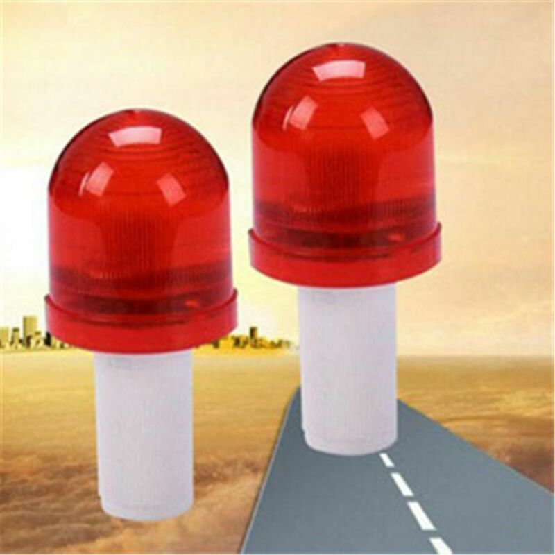 LED Roadway Emergency Road Light Traffic Cone Hazard Skip Light Warning Lamp 3