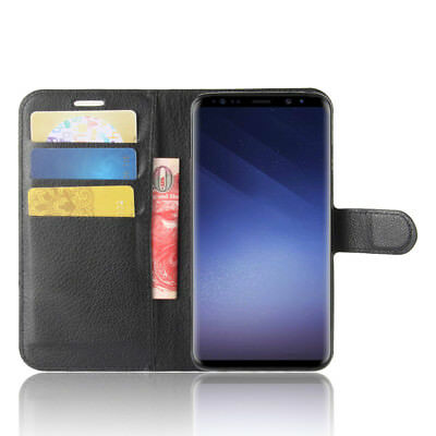 Wallet Leather Cardholder Flip Case Cover For Samsung Galaxy S8 S9 S10 S10E Plus 3