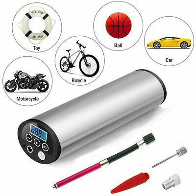 Autoreifen Luftpumpe Fahrrad Elektrische Inflator mit LiIon Akku Kompressor Neu