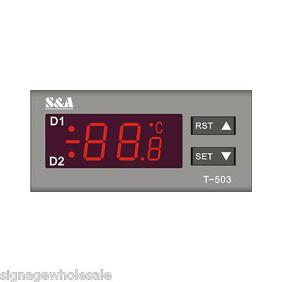 US CW-5200DH Industrial Water Chiller for 8KW Spindle / Welder / Laser Tube 110V 2