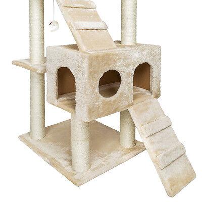 De Luxe Arbre à chat griffoir grattoir geant beige 186cm 4