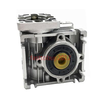 50:1 Worm Worm Gearbox Reducer,Nema23 Flange 11mm Input,NMRV030 Gear for Stepper 10