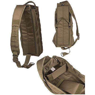 Mil-Tec Tanker Security Police EDC Camera Sling Pack Rucksack Case Bag 15L Black