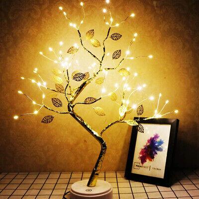 Artificial Light Tree Lamp Led Tabletop Bonsai Tree Light Decor Night Light Gift 20 59 Picclick