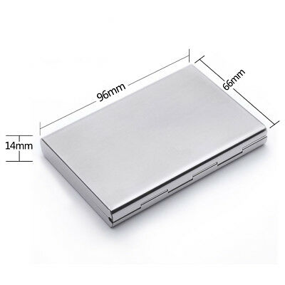 New Deluxe Wallet ID Credit Card Holder Anti RFID Blocking Stainless Steel Case 6