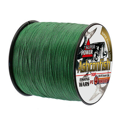 Super Strong 100M-1000M PE Braided Fishing Line 6LB-100LB Multifilament PE Lines 2