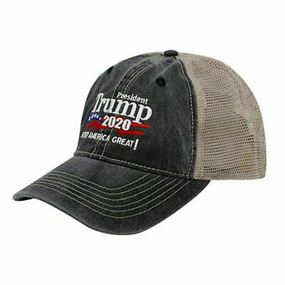 Trump 2020 MAGA Hat Keep Make America Great Again Mesh Embroidered Cap A+++ USA 4