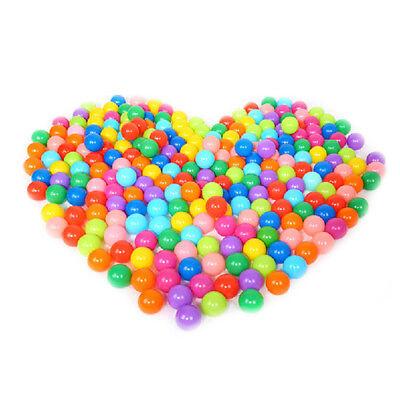 100pcs Colorful Ball Soft Plastic Ocean Ball Funny Baby Kids Swim Pit Pool Toys 7