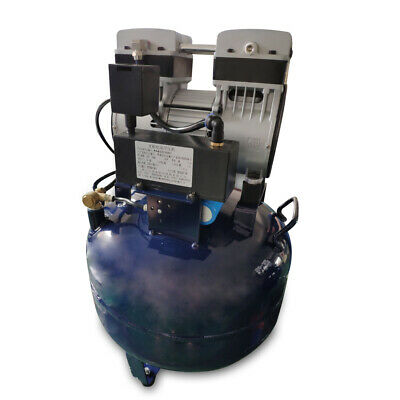 Dental Noiseless Oil-Free Oilless Air Compressor 32L Gas tank 850W AC220V DHL 6