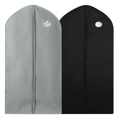 1/5/10Pc Garment Suit Bags Dress Clothes Coat Cover Breathable Protector Storage 3