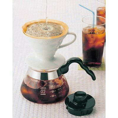 Hario V60 02 Coffee Dripper Ceramic WHITE VDC-02W For 1 - 4 Cup from JAPAN 6