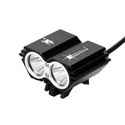 6000lm SolarStorm 2x XML T6 LED Linterna Frontal Luz Cabeza Bicicleta Headlight 4