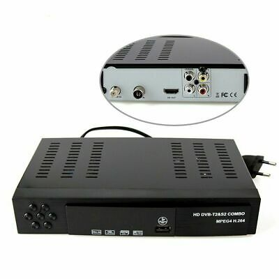 Decoder Digitale Full Hd Combo Digitale Terrestre E Satellitare Dvb-T2/S2 2