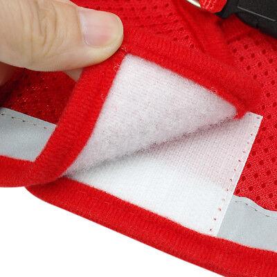 Cat Walking Jacket Harness Leash Escape Proof Adjustable Pet Puppy Dog Mesh Vest 11