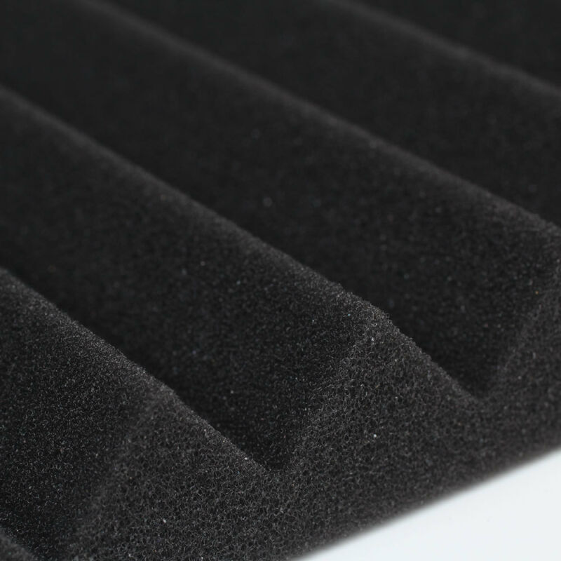 New 6PCS Acoustic Panels Tiles Studio Sound Proofing Insulation Closed Cell Foam 7