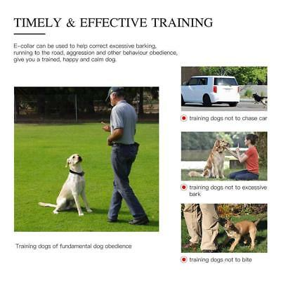 1/2/3 Dog Shock Training Collar With Remote Rechargeable IP67 For Large 880 Yard 5