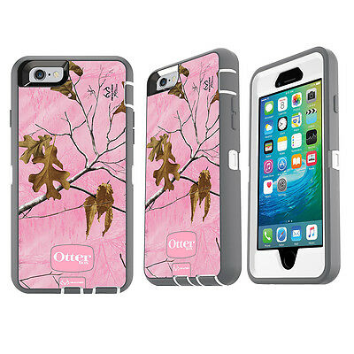 info for d84f3 d83f4 OTTERBOX DEFENDER IPHONE 6 iPhone 6s Case w/Holster Belt Clip (Realtree AP  Pink)