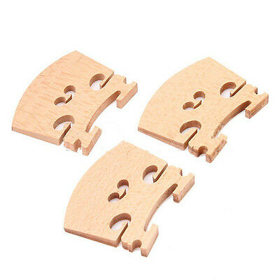 3Pcs 4/4 Full Size Violin / Fiddle Bridge Ma HJ 4